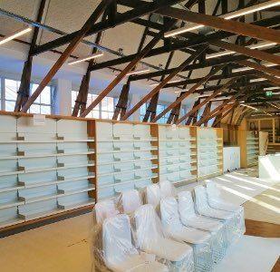 Boekenkasten bibliotheek Utrecht