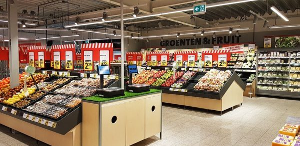 Boni supermarkt inrichting