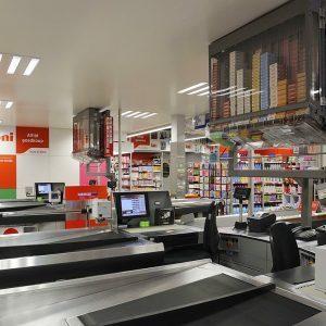 Boni winkelinrichting supermarkt