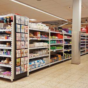 Boni supermarkt inrichten