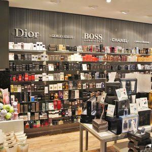 Douglas parfumerie winkelinrichting
