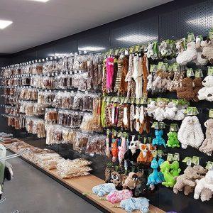 Pet Specials dierenwinkel inrichting