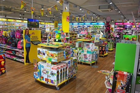 Speelgoedwinkels inrichten