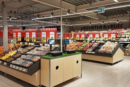 Supermarkten inrichten