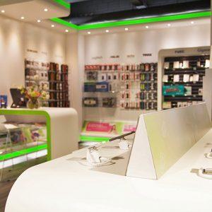 Welcom winkelinrichting telefoonwinkel