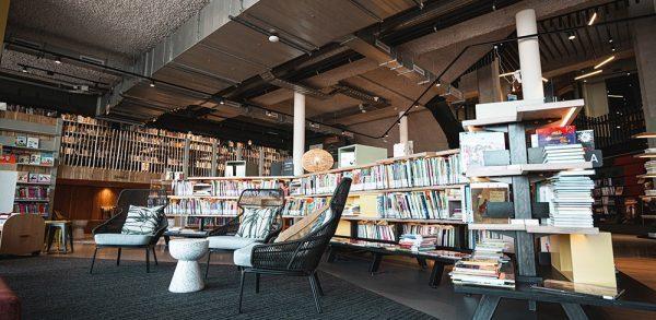 Bibliotheek inrichting Alphen