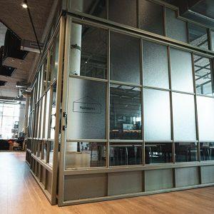 Interieur bibliotheek Alphen