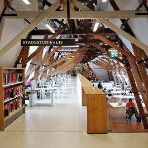 Inrichting bibliotheek Utrecht