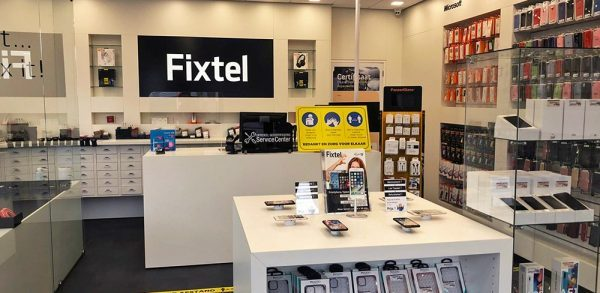 Fixtel telefoonwinkel interieur
