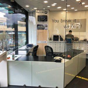 Fixtel winkelinrichting telecom