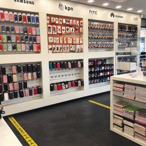 Fixtel winkelinterieur telefoonwinkel