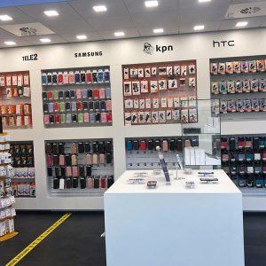 Fixtel telefoonwinkel inrichting
