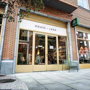 House of Lena kledingzaak inrichting