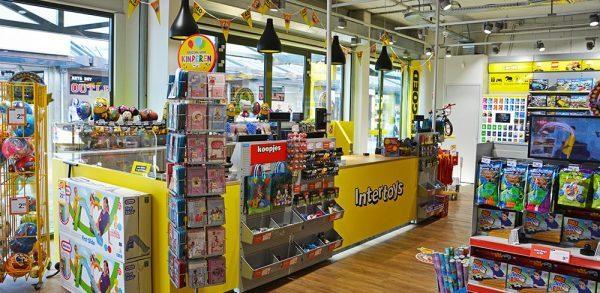 Intertoys speelgoedwinkel inrichten