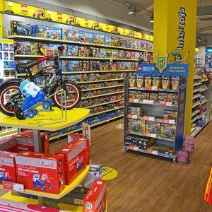 Intertoys speelgoedwinkel interieur