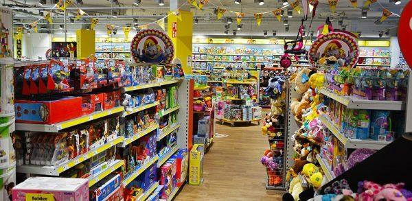 Intertoys inrichting speelgoedwinkel