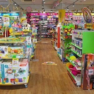 Intertoys winkelinrichting speelgoedwinkel
