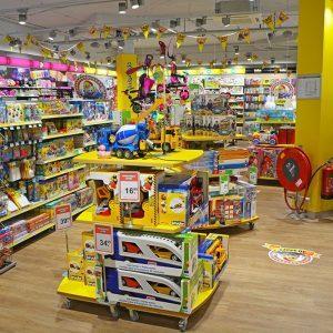 Intertoys speelgoedwinkel inrichting