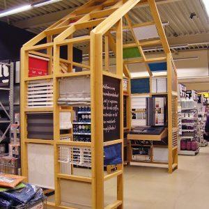 Karwei winkelinrichting bouwmarkt
