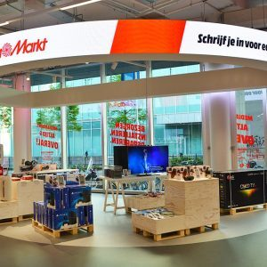 Media Markt elektronicawinkel interieur