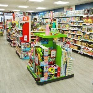 Top 1 Toys speelgoedwinkel inrichten