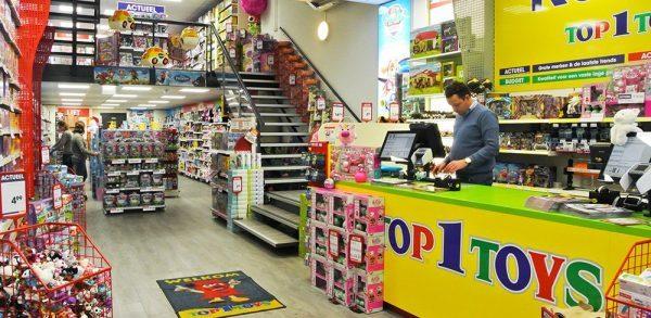 Top 1 Toys winkelinrichting speelgoedwinkel