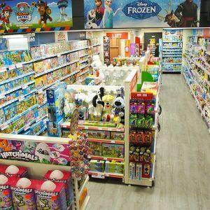 Top 1 Toys speelgoedwinkel inrichting