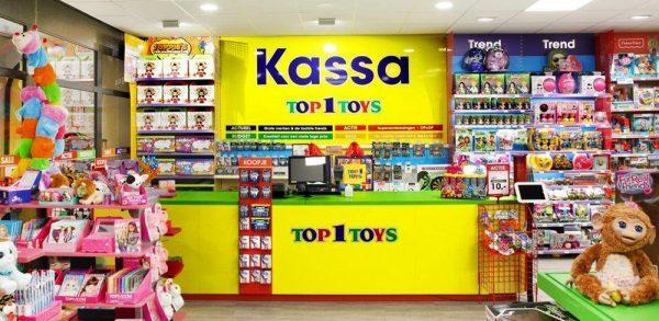 Top 1 Toys speelgoedwinkel inriching