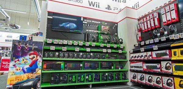 Micromedia elektronicawinkel inrichting