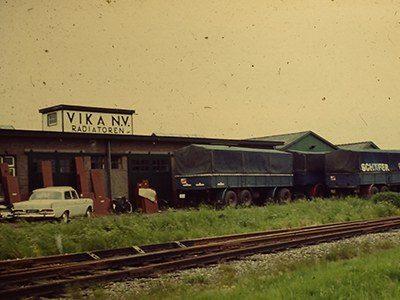 Tijdlijn Vika 1963