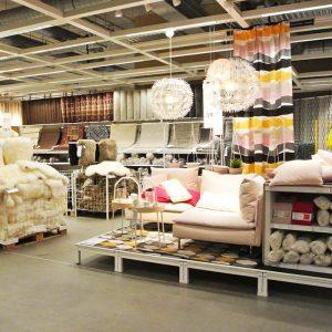 IKEA inrichting woonwinkel